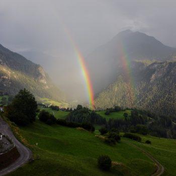 Regenboog in Zwitserland