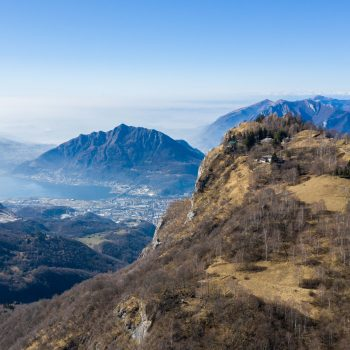 De bergen rond Lecco, Italië